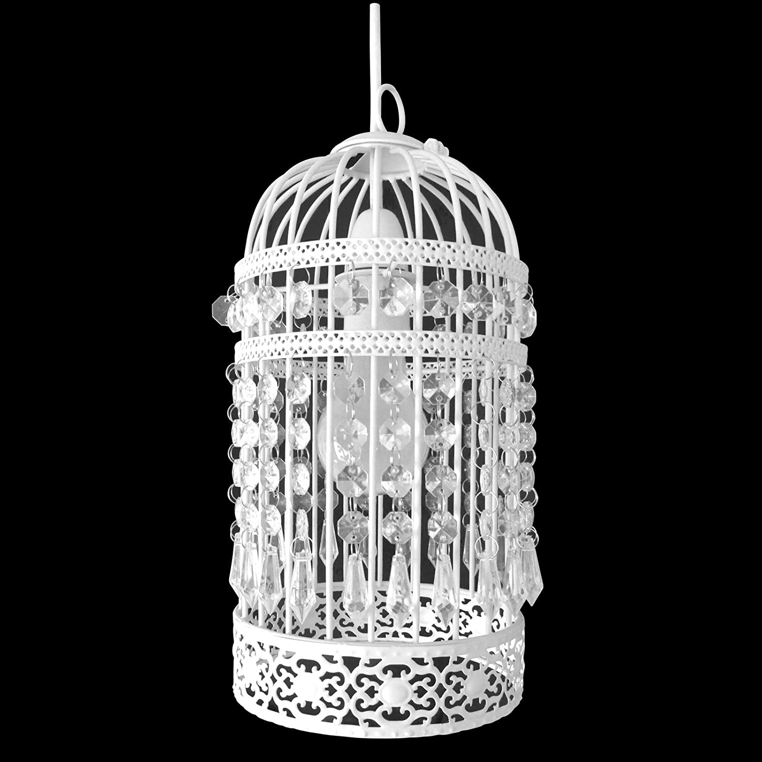 Antique style birdcage bird cage ceiling pendant light shade fitting antique style birdcage bird cage ceiling pendant light shade fitting decoration amazon kitchen home aloadofball Image collections