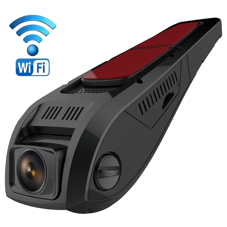 Pruveeo F Car Dash Cam con WiFi Discreet Design Dash Cámara para