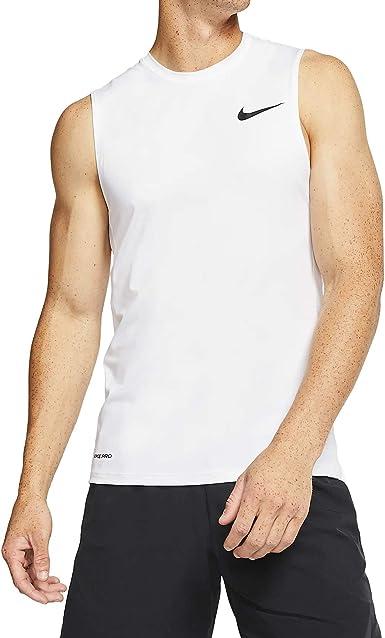 Exagerar A bordo Fácil  Amazon.com: Nike Pro Bv5629-100 - Camiseta sin mangas para hombre: Clothing