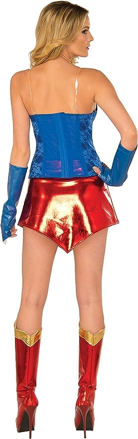 Amazon.com: DC Comics Supergirl Traje Deluxe con Boot Covers ...
