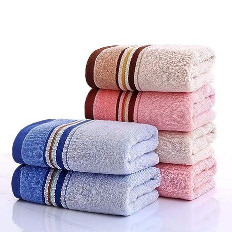 LOF-fei Toallas de Lavabo/Toallas de Mano en Ducha de algodón (Paquete
