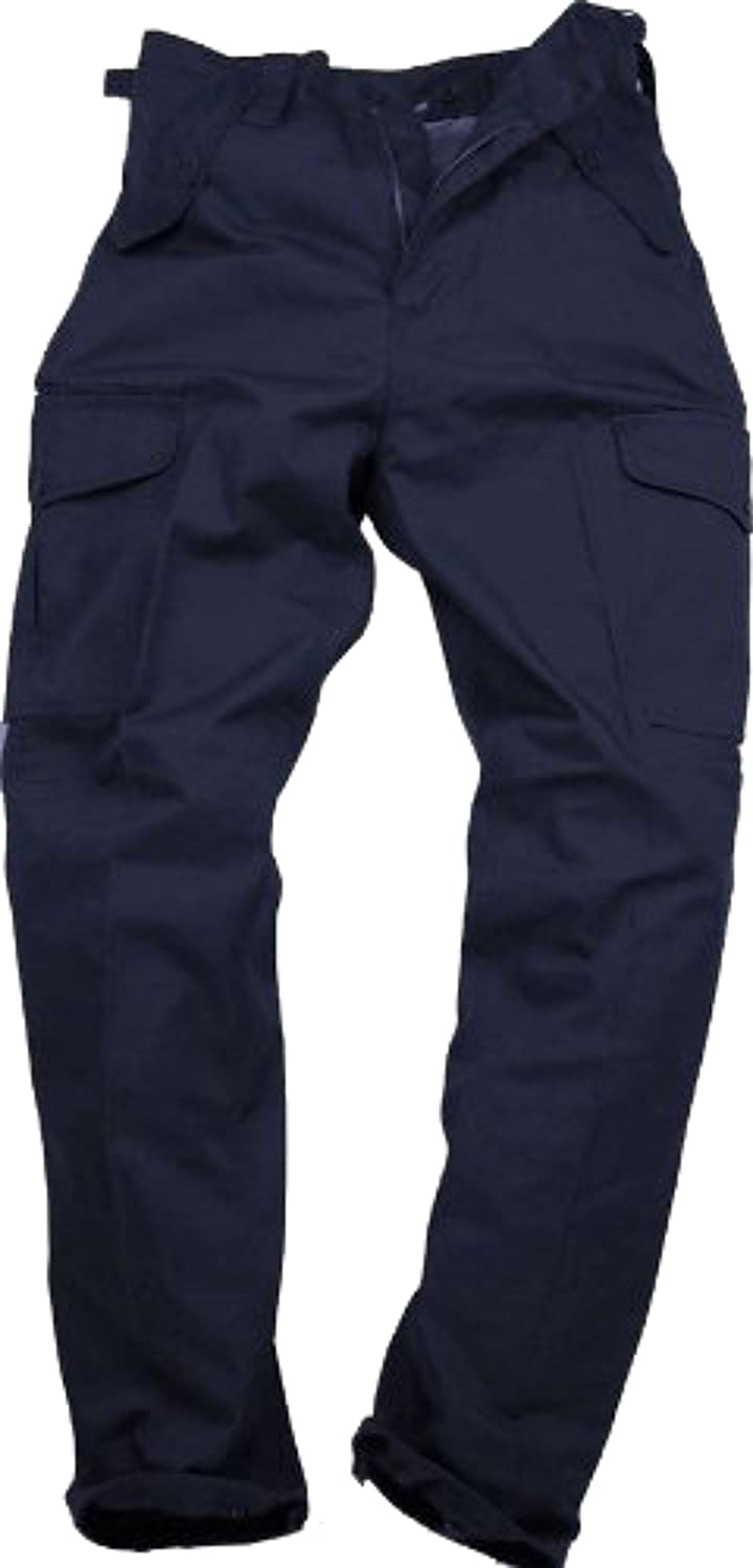 latest style of 2019 top fashion choose best Mens Plain Combat Trousers Work Trousers by Blue Castle