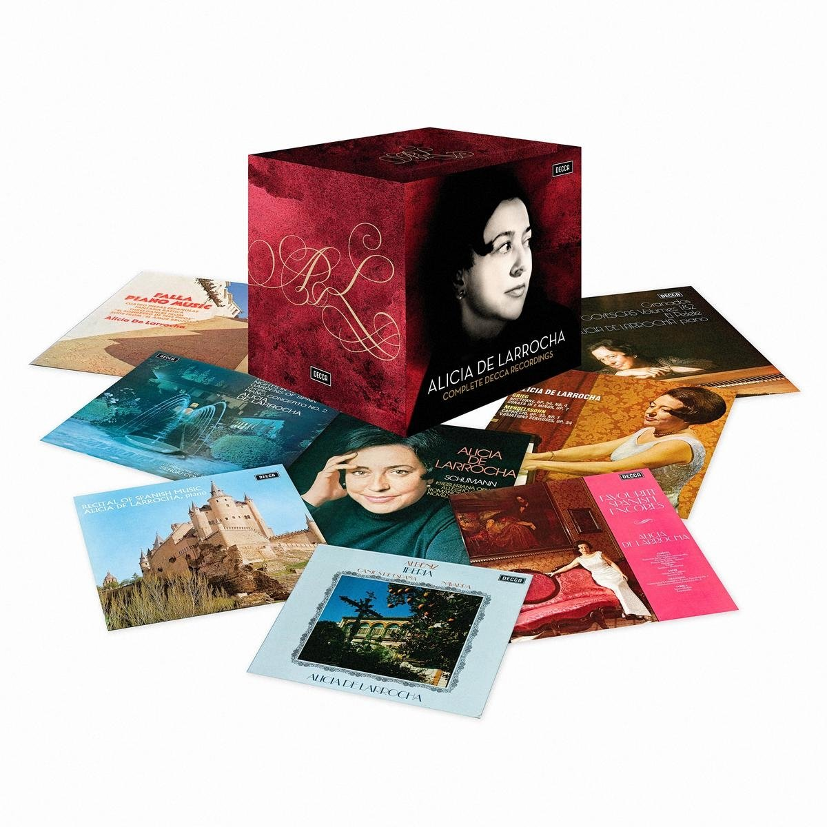 CD : Alicia de Larrocha - Alicia De Larrocha Complete Decca Recordings (Limited Edition, Boxed Set, 41PC)