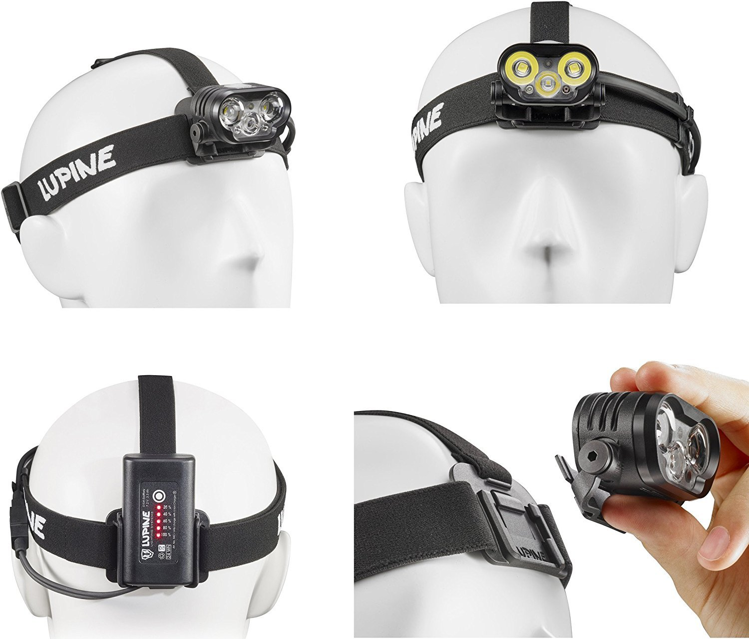 Lupine Lighting Systems BLIKA X4 SC Smartcore 2100 Lumen LED Headlamp System by Lupine Lighting Systems (Image #1)