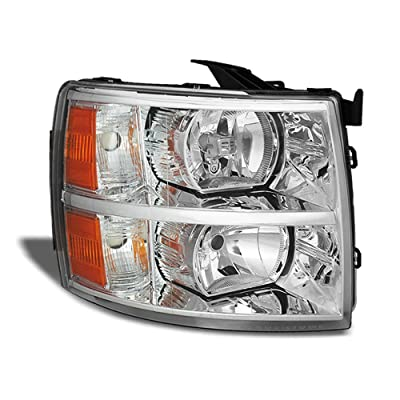 ACANII - For 2007-2013 Chevy Silverado 1500 2500HD 3500HD Replacement Headlight Headlamp - Passenger Side Only: Automotive