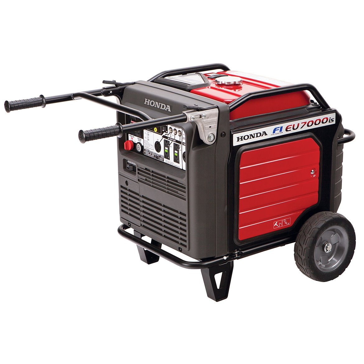 Honda Super Quiet Portable Inverter Generator with Electric Start