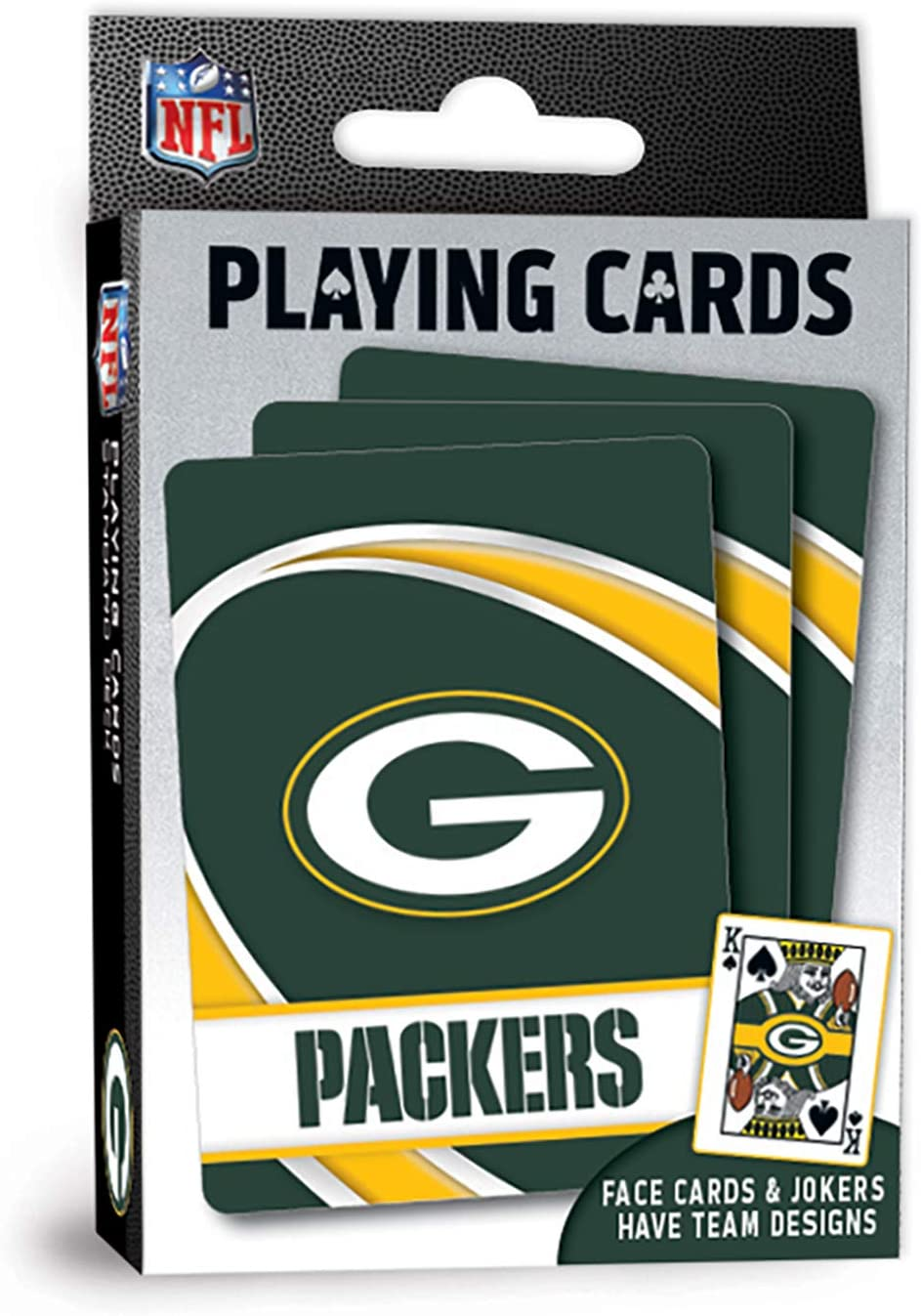 MasterPieces NFL Green Bay Packers Playing Cards