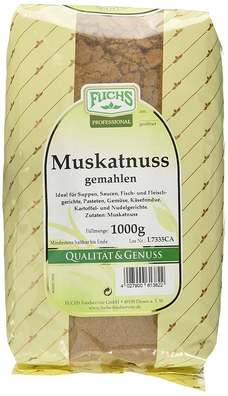 Fuchs Ground nutmeg 1000g