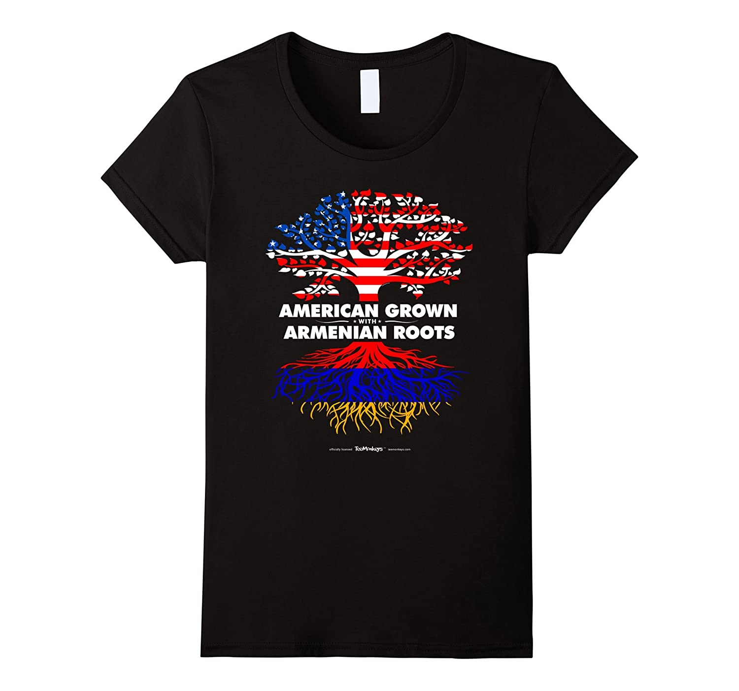 American Grown with Armenian Armenia Roots T-Shirt