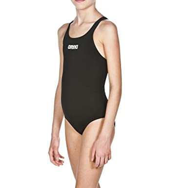 25cd159b Image Unavailable. Image not available for. Color: arena Girls Solid Swim  Pro-22