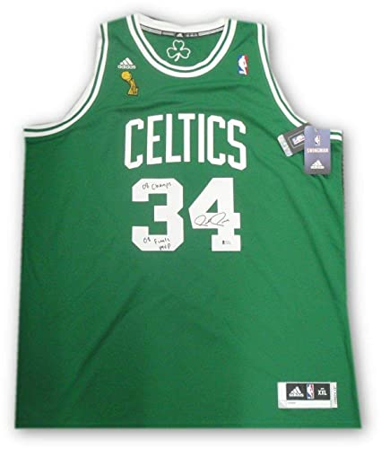 sneakers for cheap 20ef1 c7211 Autographed Paul Pierce Jersey - 08 Finals MVP Champs ...