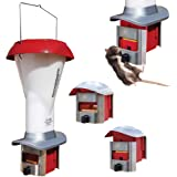 Alimentador para pollos o gallinas a prueba de ratas Comedero de aves de corral a prueba de ratas - alimentador de pollos - Impermeable - 3.5ltr - Alimentador de Gallinas PestOff