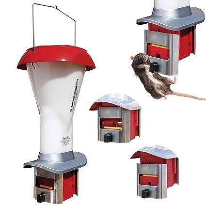 Amazon.com : Roamwild PestOff Rat Proof Chicken Feeder kit - Rat Proof Poultry Feeder - Weather Proof - 8lbs Capacity : Garden & Outdoor