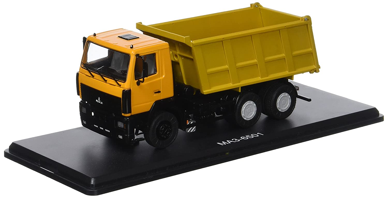 Start Scale Models ssm1204 – maz-6501 LKW Dumper-Jaune