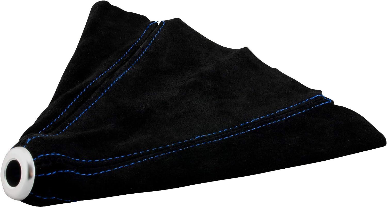 Schaltsack Universal Schaltmanschette Naht Blau Schaltknauf Abdeckung Schwarz