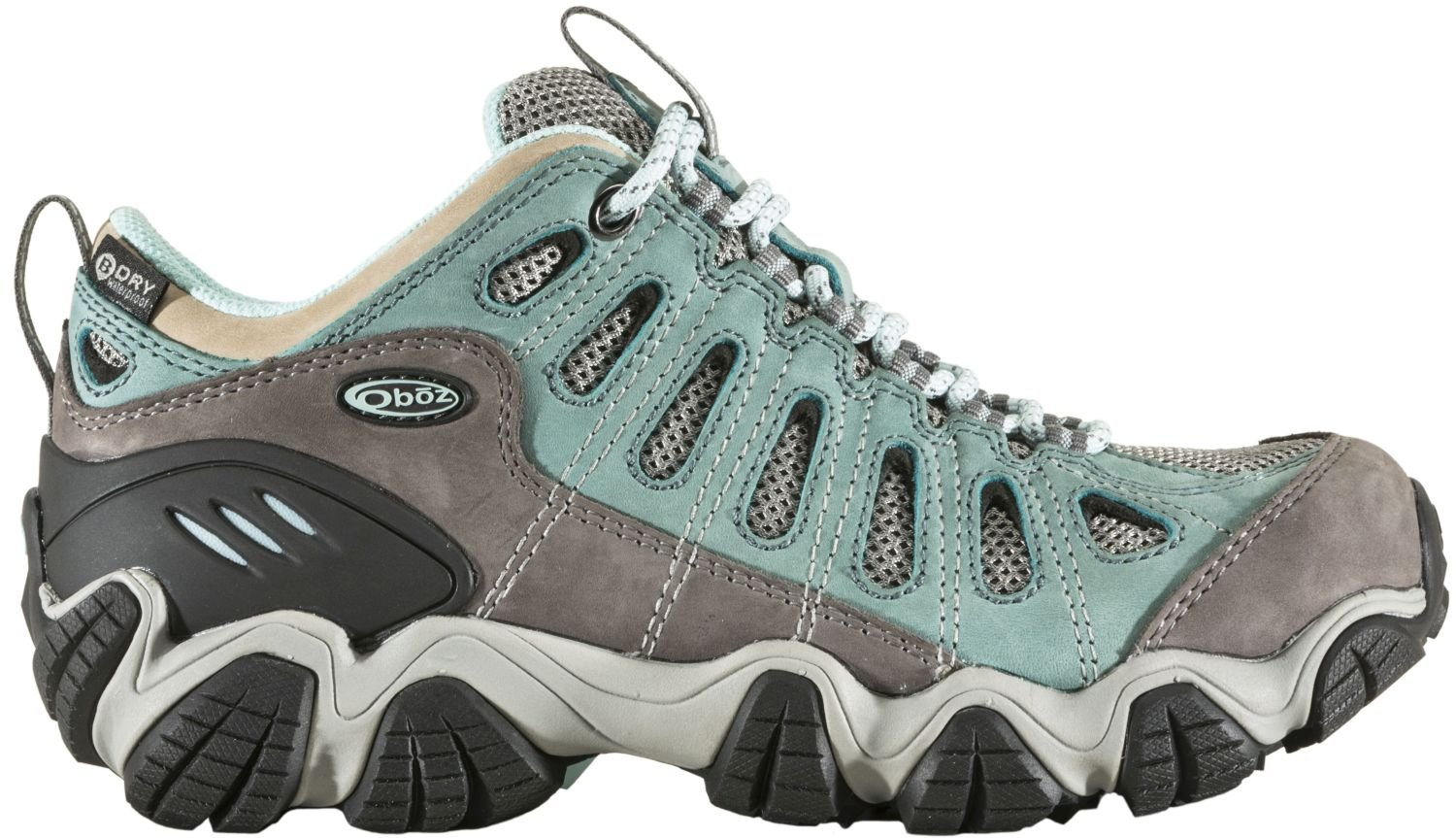 Oboz Women's Sawtooth Low BDry Hiking Shoe B07F46G9MT 9.5 D US|Mineral Blue