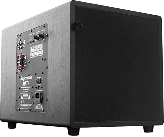 Earthquake Sound Supernova MKIV-12 Powered Subwoofer with SLAPS Technology