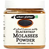 Urban Platter Blackstrap Molasses Powder, 400g [Healthy Natural Sweetener, Mineral-Rich, Bake-Friendly]