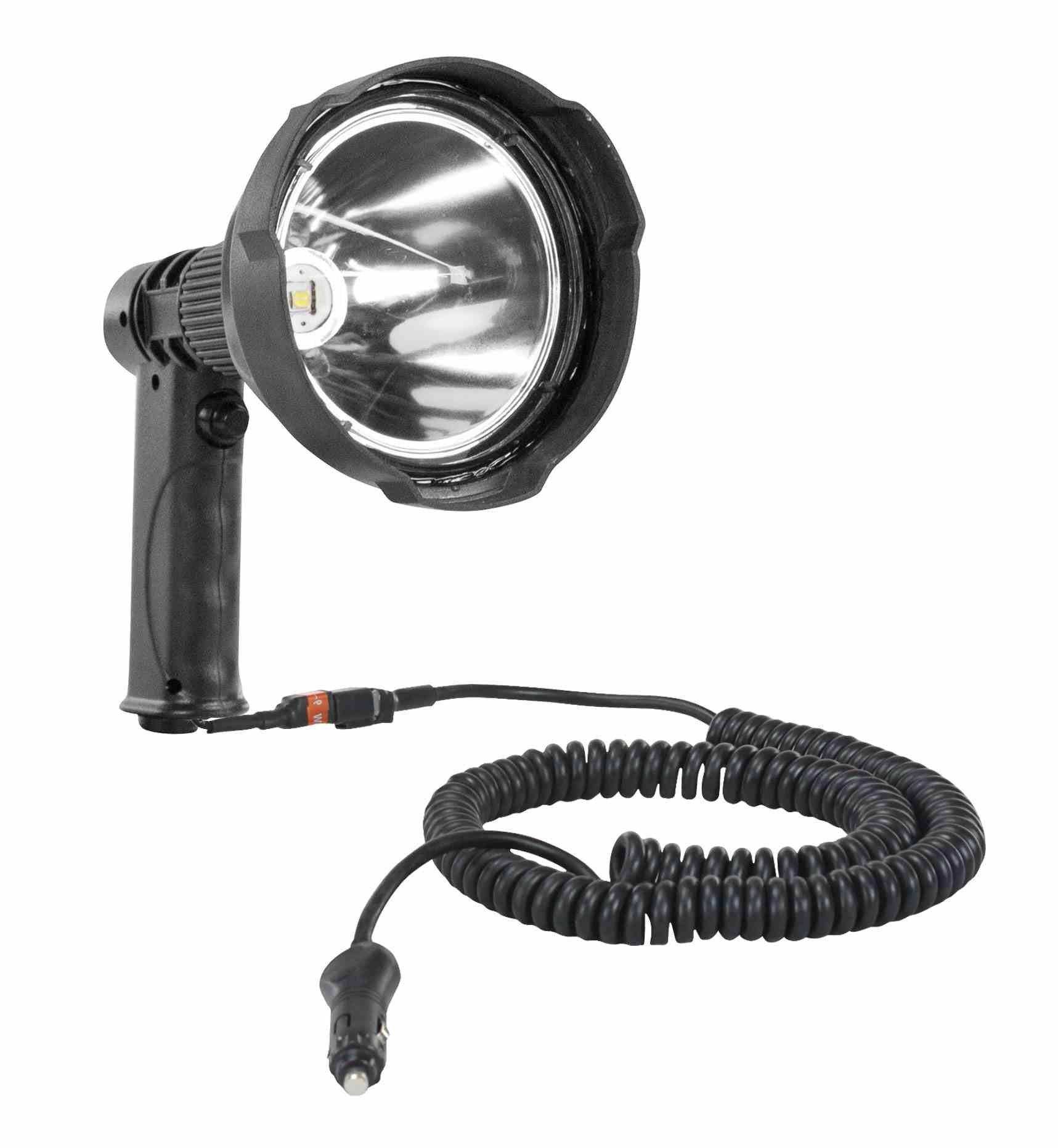 Larson Electronics HL-85-LEDWRE-45W-CPR-16CP HL-85-Ledwre-45W-Cpr-16CP.CC 12 Million Candlepower LED Spotlight-45 Watt-Pistol Grip-12-32VDC-4000 Lumens
