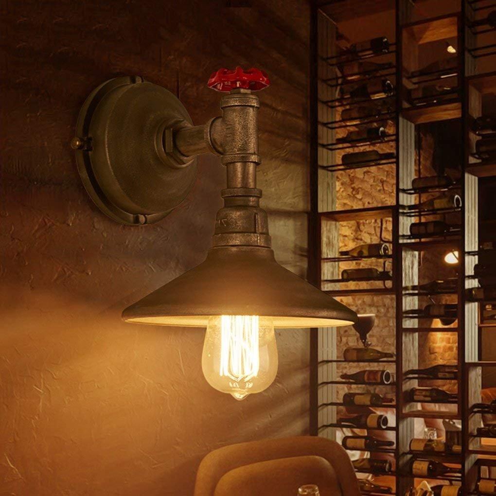 JU Im europäischen Stil Retro Industrial Lights Gang Creative Schlafzimmer außerhalb der Wandleuchten Balkon Eisen Walle Lampe B07J39SCZ1 | Verrückter Preis, Birmingham