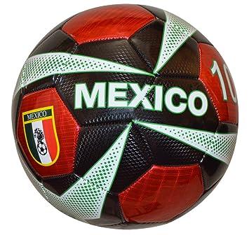 Vizari México balón de fútbol, Color Negro, tamaño Talla 4: Amazon ...