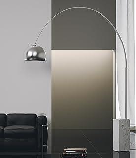 Flos Arco lampada da terra design Castiglioni 1962 base marmo 70W ...