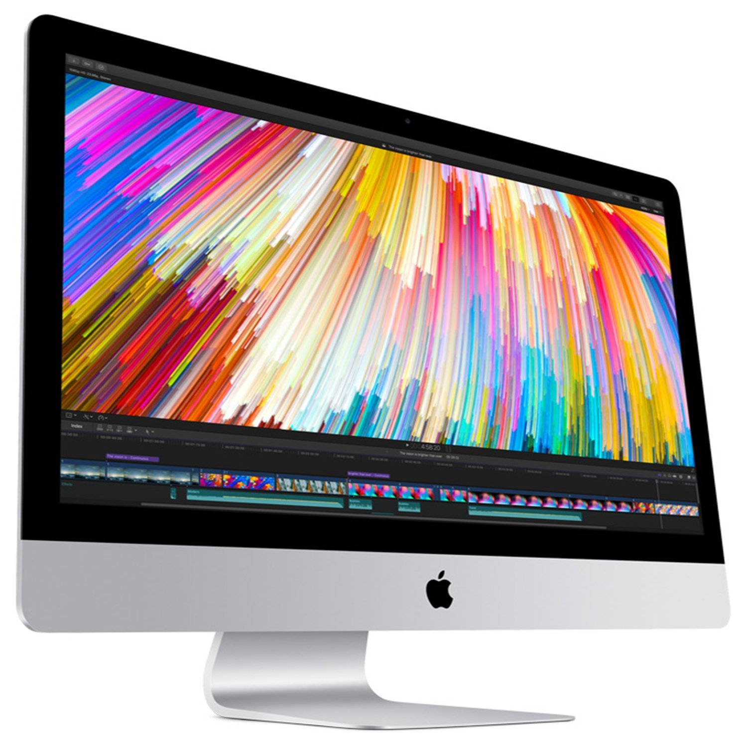 Apple iMac 27'' Desktop with Retina 5K Display (Mid 2017) - 4.2GHz Quad-Core Intel Core 7th-gen i7, 1TB SSD, 64GB 2400MHz DDR4 Memory, 8GB Radeon Pro 580 Graphics, macOS, Magic Keyboard - Spanish by Apple (Image #3)