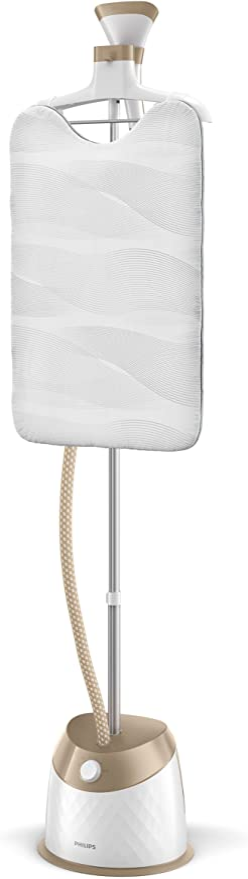 Philips EasyTouch Plus Standing Garment Steamer, 1600W 1.6L – GC524/66: Amazon.co.uk: Kitchen & Home