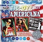 Tulip One-Step Tie-Dye Kit Americana Tie Dye, 5 Color Trend, Red,