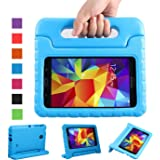 NEWSTYLE Shockproof Light Weight Kids Case with Protection Cover Handle and Stand for Samsung Galaxy Tab 4 7-inch, SM…