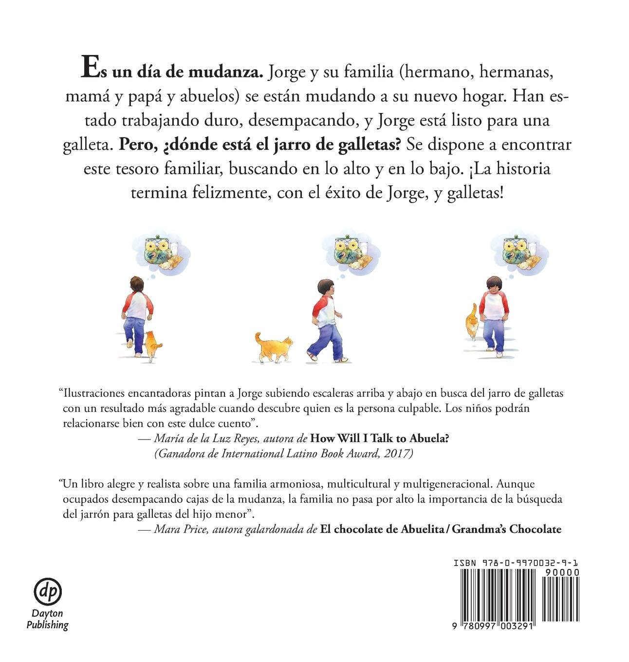 Jorge y El Jarro de Galletas Perdido (Spanish Edition): Marta Arroyo, Penny Weber: 9780997003291: Amazon.com: Books