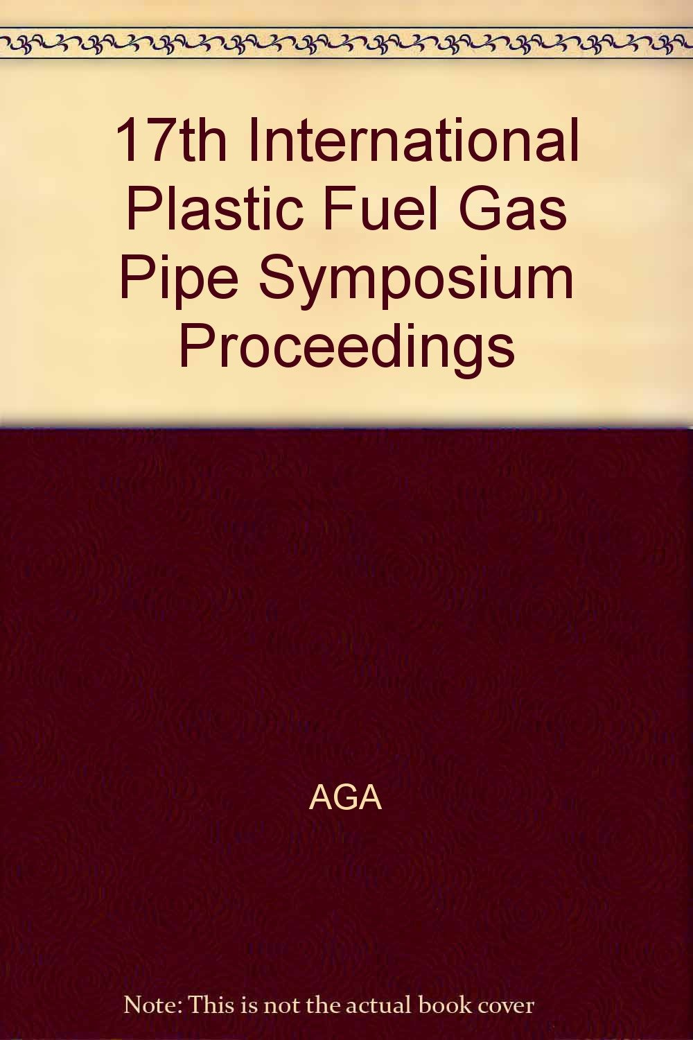 Download 17th International Plastic Fuel Gas Pipe Symposium Proceedings ebook