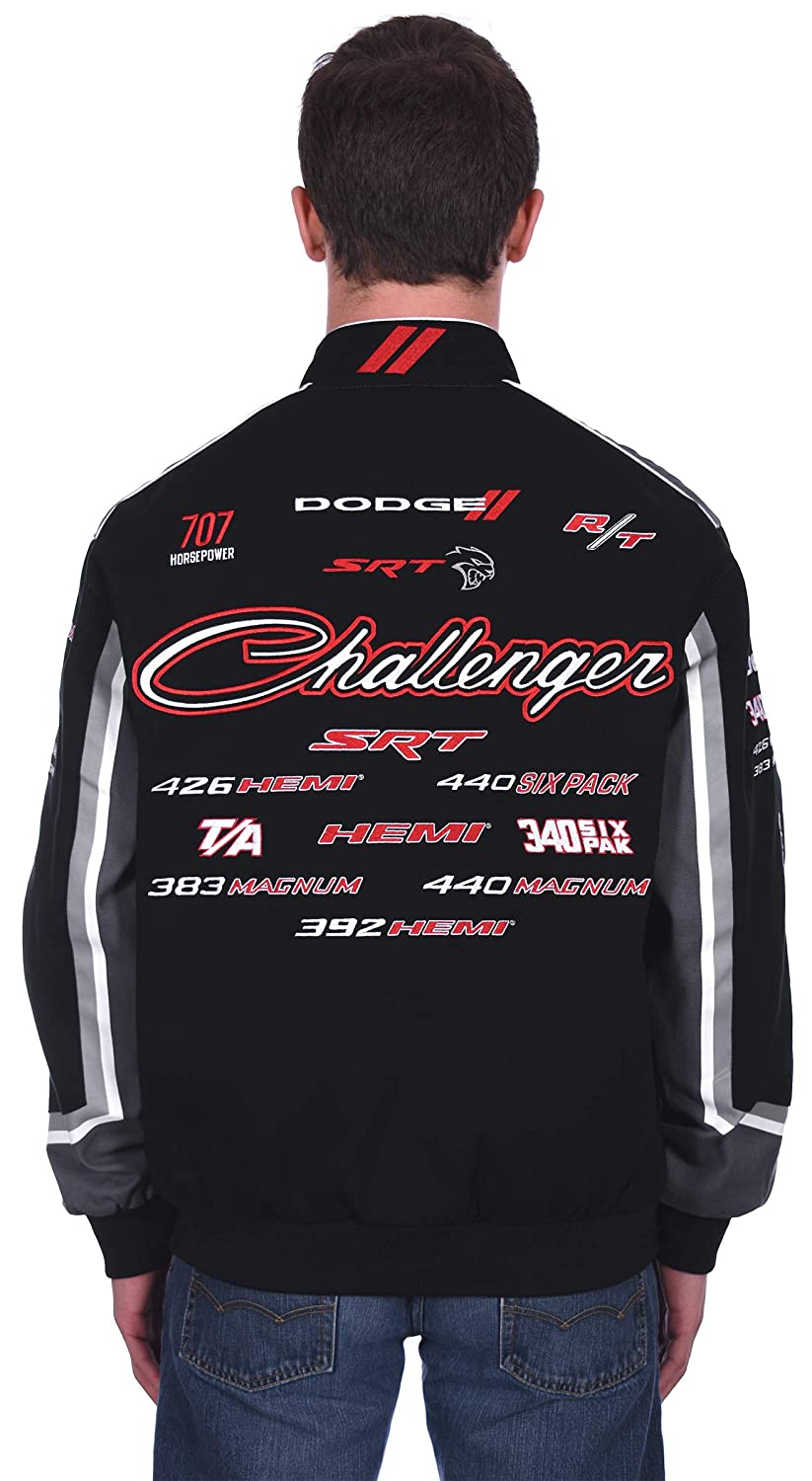 Mens Dodge Challenger Embroidered Cotton Twill Jacket