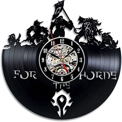 World of Warcraft Wall Clock