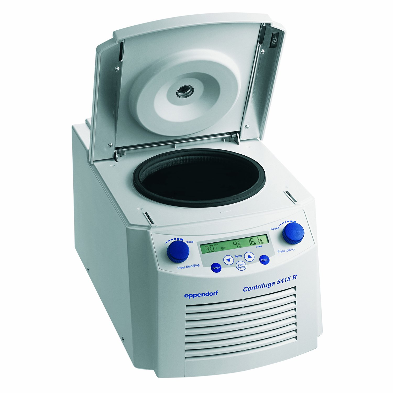 Eppendorf Model 5415 R Variable-Speed Refrigerated Microcentrifuge, 800-13,200rpm Maximum Speed, 120V/60Hz 22621408