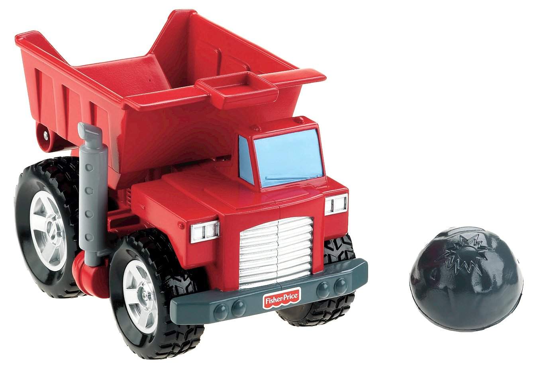 Fisher-Price Big Action Boulder Boost Dump Truck
