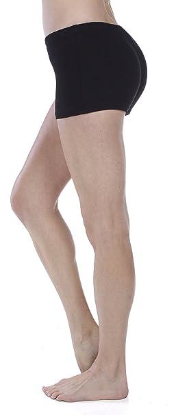 Amazon.com: emmalise Active Mujer Basic mezcla de algodón ...