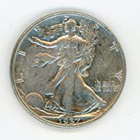 1937 Walking Liberty Half Dollar AU-53