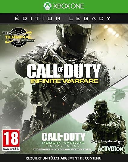 Call Of Duty: Infinite Warfare - Edition Legacy [Importación Francesa]: Amazon.es: Videojuegos