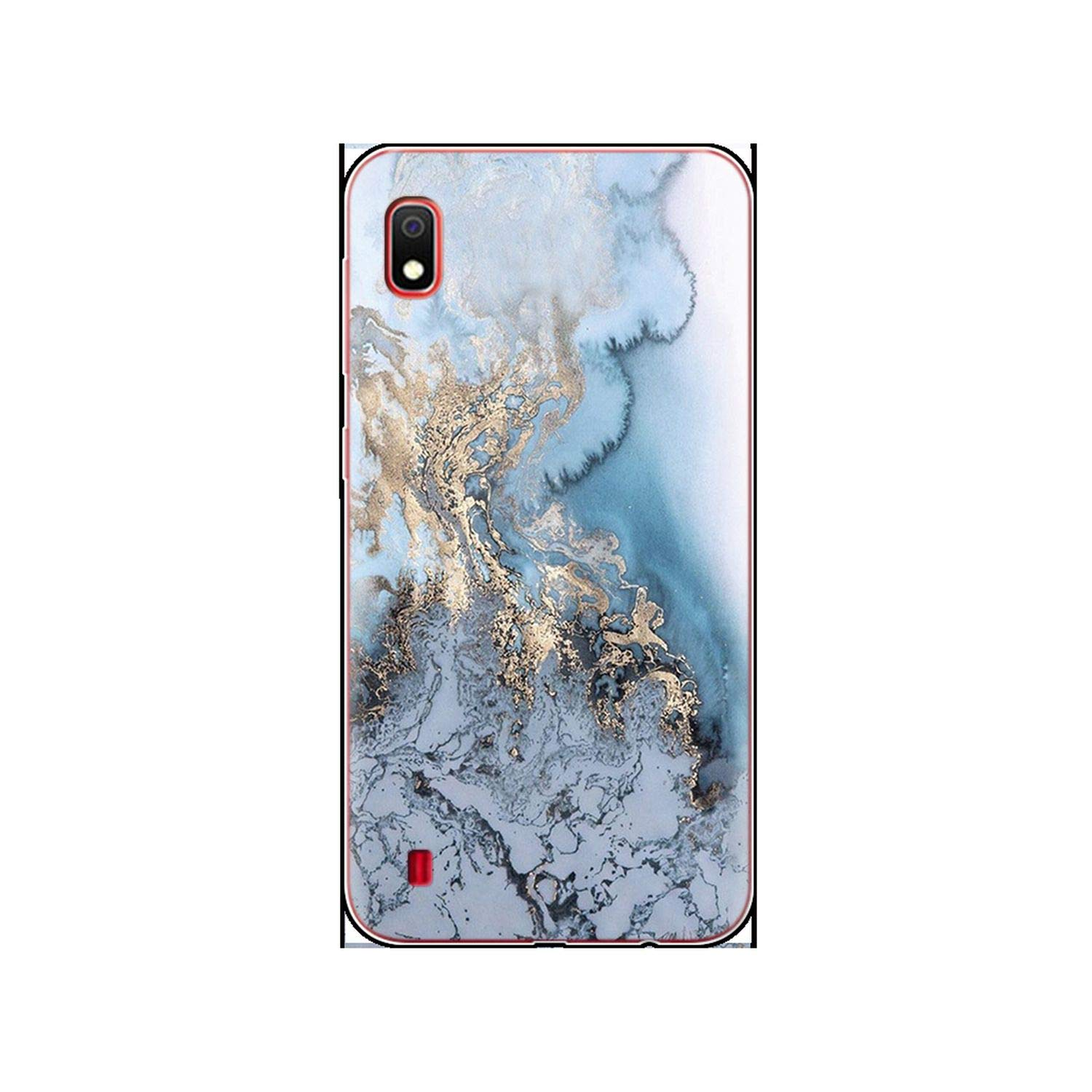 Amazon.com: Marble Case for Samsung Galaxy A10 Luxury Cover ...