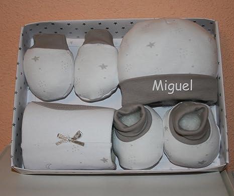 fc8900c5b9e08 PRIMERAEDAD Set bebé cuatro piezas(gorro