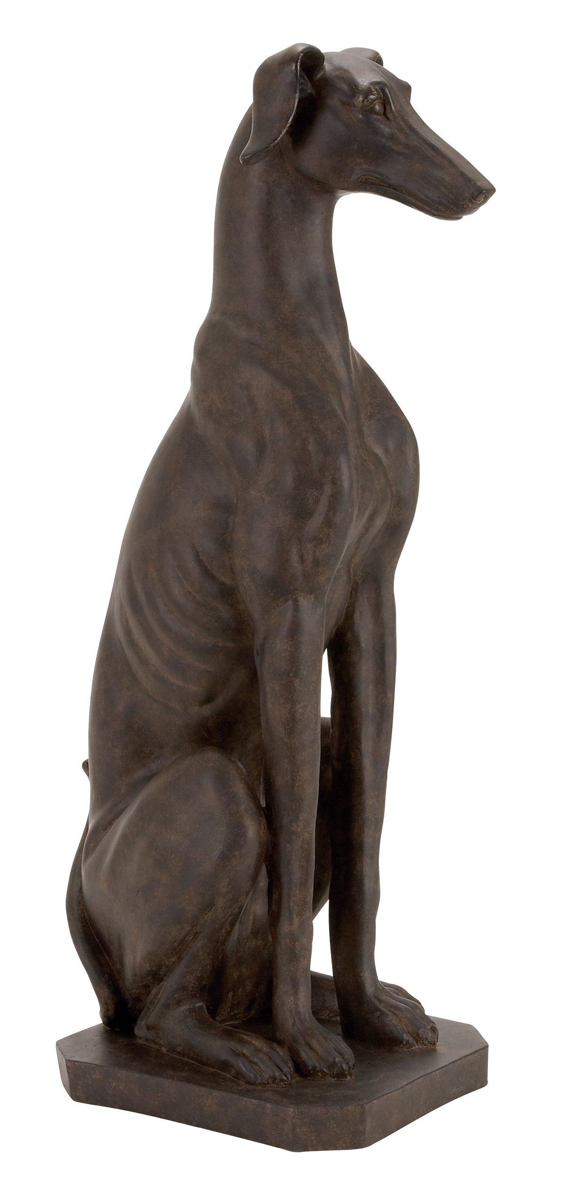 Deco 79 Dog Sculpture by Deco 79