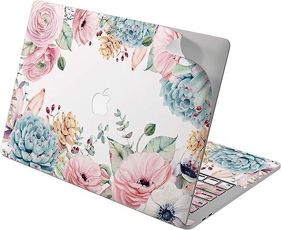 Flower MacBook Decal MacBook 2017 Decal Floral MacBook Decal MacBook Pro 15 inch MacBook Air 11 Skin MacBook Pro 13 Cover Mac Retina 12 2016