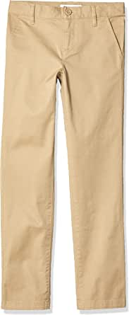 Amazon Essentials Slim Uniform Chino Pants Niñas