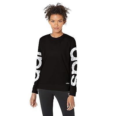 adidas Women's Essentials Brand Sweatshirt: Clothing