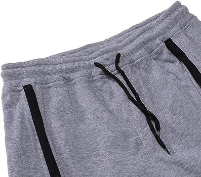 Pantalones Hombre Pitillo, YiYLunneo Sólido de Chándal de Pantalones Deportivos de Punto para con Cintura Elástica Casual Raya Trouser Vintage Pants: Amazon.es: Ropa y accesorios