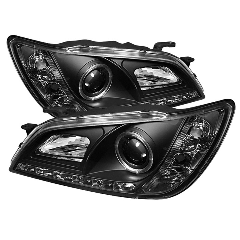 Spyder Auto PRO-YD-LIS01-HID-DRL-SM Smoke LED Projection Headlight