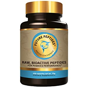 Future Peptides™ Pure Protein: Best Protein Capsules, Amino Acids Raw Food For Pre Workout and Post Workout Supplements. Takes the Place of Whey Protein Powder. Perfect for Crossfit Training.