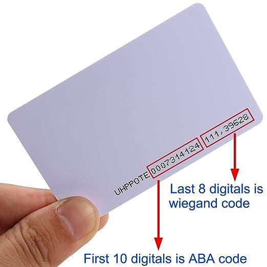 UHPPOTE Sin Contacto 125kHz EM4100 RFID Proximidad ID ...