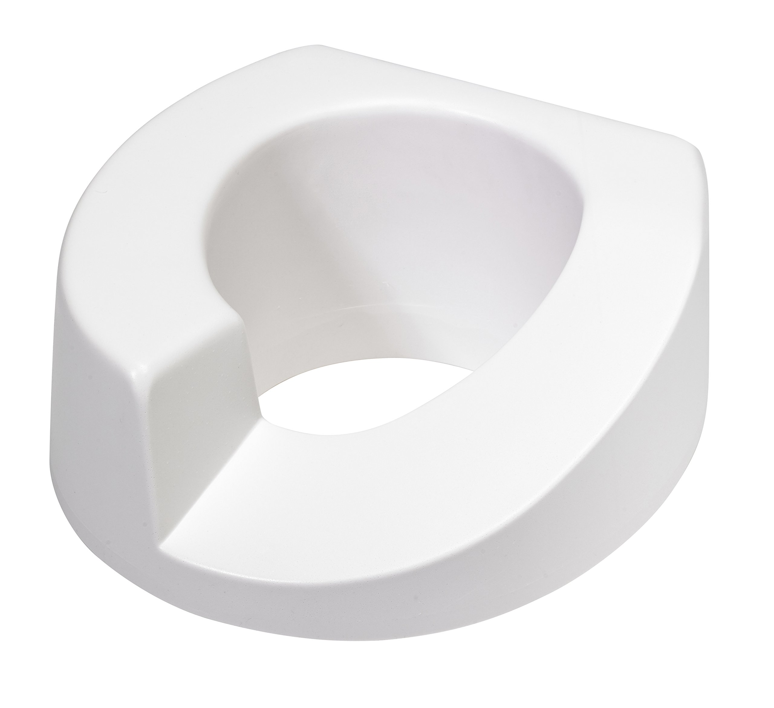 Maddak Elevated Toilet Seat, Left Cutout by SP Ableware